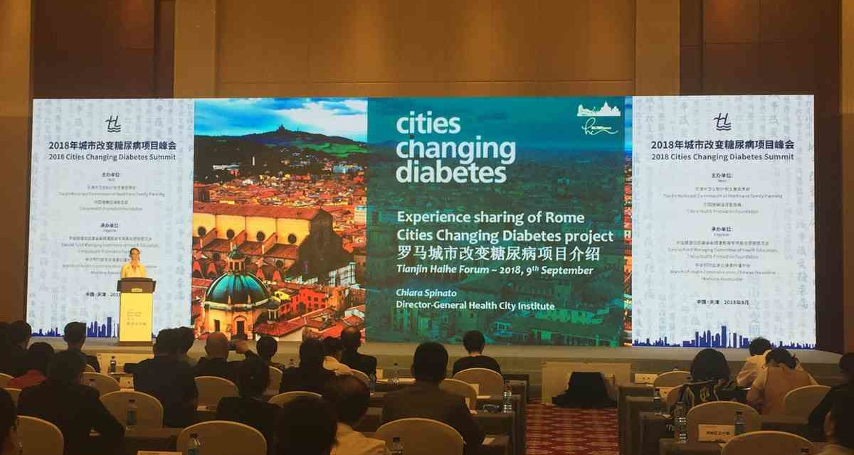 Cities Changing Diabetes Forum: Tianjin chiama Roma