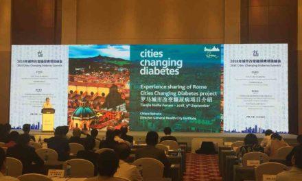 Cities Changing Diabetes Forum: Tianjin chiama Roma